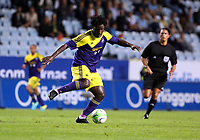 Thursday 08 August 2013<br /> Pictured: Wilfried Bony of Swansea<br /> Re: Malmo FF v Swansea City FC, UEFA Europa League 3rd Qualifying Round, Second Leg, at the Swedbank Stadium, Malmo, Sweden.