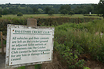 Balcombe West Sussex UK. Balcombe cricket club ground.