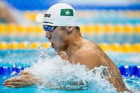 CHAO Man Hou MAC<br /> Men's 200m Breaststroke Heats<br /> Day 14 27/07/2017 <br /> XVII FINA World Championships Aquatics<br /> Duna Arena Budapest Hungary <br /> Photo ©A.Masini/Deepbluemedia/Insidefoto