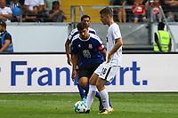 Für Frankfurt: Max Besuschkow (Eintracht Frankfurt) und Andreas Pollasch (FSV Frankfurt) - 06.08.2017: Eintracht Frankfurt vs. FSV Frankfurt, Saisoneröffnung, Commerzbank Arena