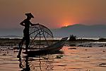 Fishermen on Inle Lake, Myanmar