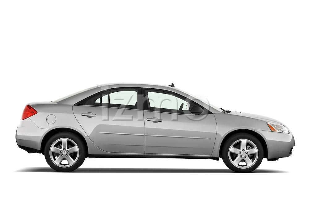 Passenger side profile view of a 2008 Pontiac G6 Sedan GT.