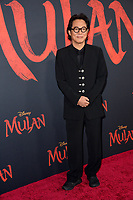 """LOS ANGELES, CA: 09, 2020: Jet Li at the world premiere of Disney's """"Mulan"""" at the El Capitan Theatre.<br /> Picture: Paul Smith/Featureflash"""