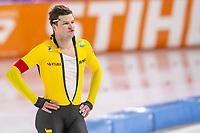 28th December 2020; Thialf Ice Stadium, Heerenveen, Netherlands; World Championship Speed Skating;  500m men, Sven Kramer during the WKKT
