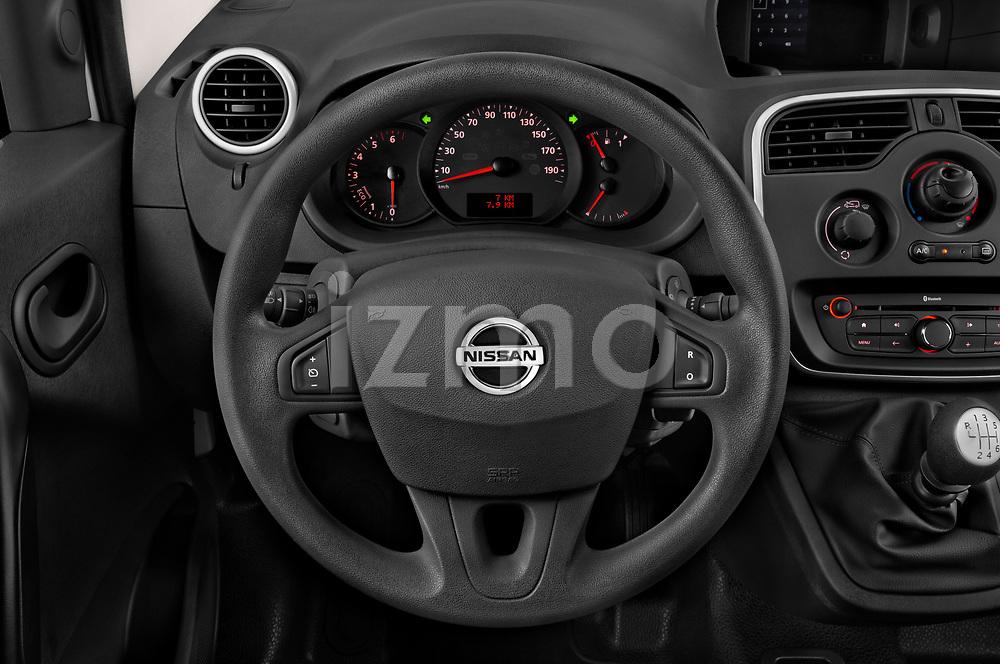 Car pictures of steering wheel view of a 2020 Nissan NV250 Visia 5 Door Car Van Steering Wheel