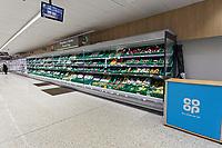 2020 03 12  Re-opening of Co op supermarket in Lampeter, Wales, UK
