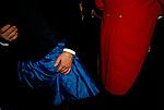 Warwickshire Hunt Ball celebrating the end of the fox hunting season, held at Tysoe Manor Tysoe Warwickshire 1982 1980s UK