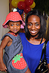 Sheleth Hampton and Carson,2,at the MD Anderson Back to School Fashion Show at The Galleria Saturday August 17, 2013.(Dave Rossman photo)