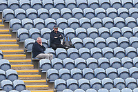 Spectators look on during Glamorgan vs Essex Eagles, Royal London One-Day Cup Cricket at the Sophia Gardens Cardiff on 17th April 2019