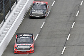 #46: Christian Eckes, Kyle Busch Motorsports, Toyota Tundra Craftsman, #30: Jeb Burton, On Point Motorsports, Toyota Tundra Strutmasters.com/SparrowRanch.org