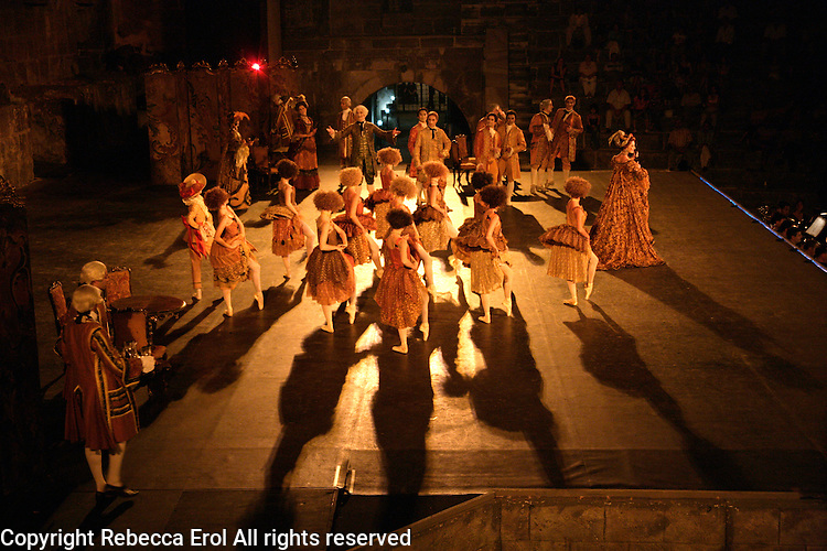 Performance of Manon by The Royal Ballet at the Aspendos International Opera and Ballet Festival, Antalya, Turkey