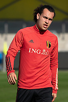 Arthur Theate of Belgium pictured during a friendly soccer game between KVC Westerlo and Belgium U21 on Tuesday 30 th of March 2021  in Westerlo Youth Complex , Westerlo Belgium . PHOTO SPORTPIX.BE | SPP | SEVIL OKTEM
