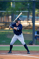 AZL Brewers center fielder Tristen Lutz (45) at bat against the AZL Dodgers on July 25, 2017 at Camelback Ranch in Glendale, Arizona. AZL Dodgers defeated the AZL Brewers 8-3. (Zachary Lucy/Four Seam Images)