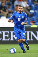 Fifa World Cup Russia 2018 Group G qualifier<br />Italy v Israel - 05/09/2017<br />Mapei Stadium in Reggio Emilia, ITALY<br />Andrea Barzagli of Italy <br />Photo Matteo Ciambelli  *** Local Caption *** © pixathlon<br /> Contact: +49-40-22 63 02 60 , info@pixathlon.de