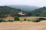 Model airplane flying at Rancho San Antonio