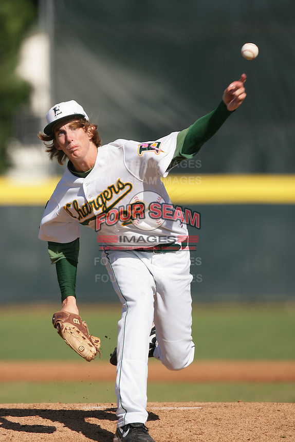 April 7, 2010: Henry Owens of Edison High School during National Classic Tournament in Anaheim,CA.  Photo by Larry Goren/Four Seam Images