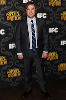 """LOS ANGELES, CA - JANUARY 07: Haley Joel Osment arriving at the Los Angeles Screening Of IFC's """"The Spoils Of Babylon"""" held at the Directors Guild Of America on January 7, 2014 in Los Angeles, California. (Photo by Xavier Collin/Celebrity Monitor)"""
