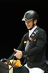 Marco Kutscher The Winner Longines Grand Prix during the Longines Masters of Hong Kong on 21February 2016 at the Asia World Expo in Hong Kong, China. Photo by Moses Ng / Power Sport Images
