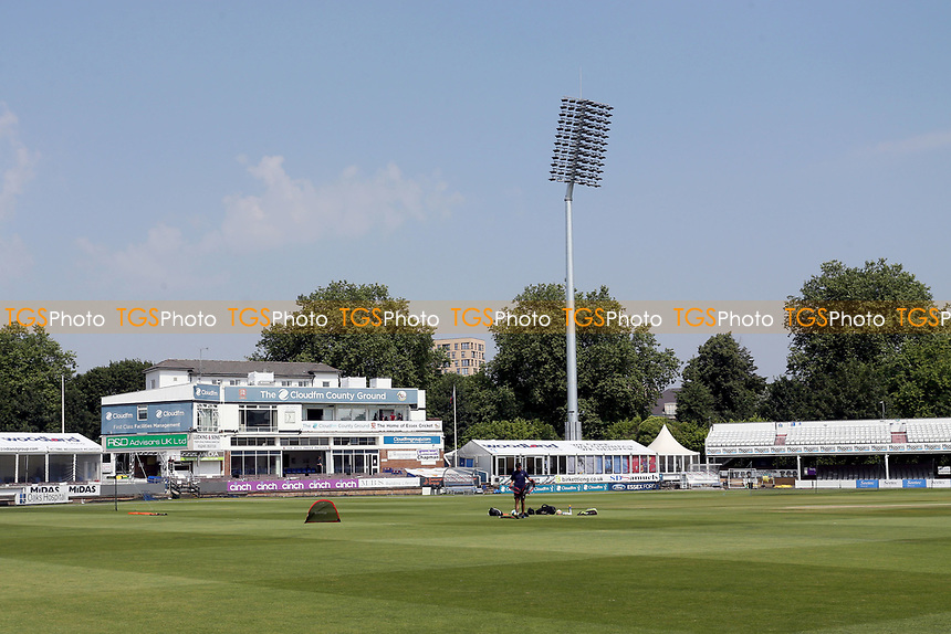 General view of the ground ahead of Essex Eagles vs Cambridgeshire CCC, Domestic One-Day Cricket Match at The Cloudfm County Ground on 20th July 2021