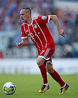12.08.2017, Football DFB Cup 2017/2018, 1. round, Chemnitzer FC - FC Bayern Muenchen, stadium an Gellertstrasse. Franck Ribery (Bayern Muenchen)  *** Local Caption *** © pixathlon +++ tel. +49 - (040) - 22 63 02 60 - mail: info@pixathlon.de<br /> <br /> +++ NED + SUI out !!! +++