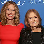 """Christine Lahti and Gloria Steinem attend the Opening Night Performance After Party for """"Gloria: A Life"""" on October 18, 2018 at the Gramercy Park Hotel in New York City."""