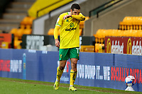 20th March 2021; Carrow Road, Norwich, Norfolk, England, English Football League Championship Football, Norwich versus Blackburn Rovers; A dejected Emi Buendia of Norwich City after the 1-1 draw