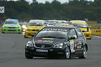 Round 7 of the 2005 British Touring Car Championship. #9. Tom Chilton (GBR). Arena Motorsport. Honda Civic Type-R.