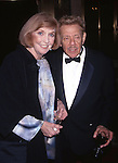 Anne Meara and Jerry Stiller attend 'A Broadway Frolic' A benefit for the National Actors Theater at the Plaza Hotel on 10/19/1998 in New York City.