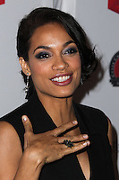 LOS ANGELES, CA, USA - MARCH 27: Rosario Dawson at the Cesar Chavez Foundation's 2014 Legacy Awards Dinner held at the Millennium Biltmore Hotel on March 27, 2014 in Los Angeles, California, United States. (Photo by Xavier Collin/Celebrity Monitor)