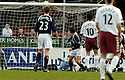 25/03/2006         Copyright Pic: James Stewart.File Name : sct_jspa22_falkirk_v_hearts.ALAN GOW'S SCORE FALKIRK'S FIRST......Payments to :.James Stewart Photo Agency 19 Carronlea Drive, Falkirk. FK2 8DN      Vat Reg No. 607 6932 25.Office     : +44 (0)1324 570906     .Mobile   : +44 (0)7721 416997.Fax         : +44 (0)1324 570906.E-mail  :  jim@jspa.co.uk.If you require further information then contact Jim Stewart on any of the numbers above.........