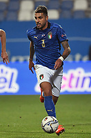 Emerson Palmieri of Italy in action during the Uefa Nation League Group Stage A1 football match between Italy and Poland at Citta del Tricolore Stadium in Reggio Emilia (Italy), November, 15, 2020. Photo Andrea Staccioli / Insidefoto