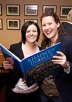 Lisa and Megan from Sportsfile