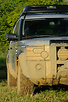 Germany, Bad Kissingen, Allrad Messe, 25-29.05.2005. Land Rover Discovery 3, Land Rover Experience. Mud. --- No releases available. Automotive trademarks are the property of the trademark holder, authorization may be needed for some uses.
