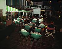 Jolly Roger Motel, Wildwood NJ. Movie Night