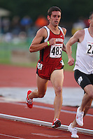 4 May 2008: Stanford Cardinal Jacob Evans during Stanford's Payton Jordan Cardinal Invitational at Cobb Track & Angell Field in Stanford, CA.
