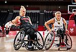 Kathleen Dandeneau, Tokyo 2020 - Wheelchair Basketball // Basketball en fauteuil roulant.<br /> Canada takes on Germany in a women's preliminary game // Le Canada affronte le Japon dans un match préliminaire masculin. 28/08/2021.