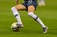 REIMS, FRANCE - JUNE 08: Caroline Graham Hansen #10 dribbles during a game between Norway and Nigeria at Stade Auguste-Delaune on June 8, 2019 in Reims, France.