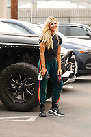 Emma Slater Spotted At Dancing With The Stars In Hollywood