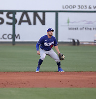 Michael Busch - Los Angeles Dodgers 2021 spring training (Bill Mitchell)