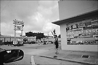 "NW 79th Street<br /> From ""Miami in Black and White"" series. Miami, FL, 2008"