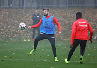 Marc Stendera (Eintracht Frankfurt) - 14.11.2018: Eintracht Frankfurt Training, Commerzbank Arena, DISCLAIMER: DFL regulations prohibit any use of photographs as image sequences and/or quasi-video.