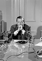 Le député fédéral, Gilles Grégoire<br /> , Entre le 27 novembre et le 3 décembre 1967<br /> <br /> Photographe : Photo Moderne - Agence Quebec Presse