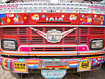Painted trucks, New Delhi