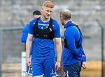 St Johnstone Training…31.07.19<br />New signing Madis Vihmman pictured talking with Steven Anderson during training ahead of Saturday's opening game of the season at Celtic Park.<br />Picture by Graeme Hart.<br />Copyright Perthshire Picture Agency<br />Tel: 01738 623350  Mobile: 07990 594431