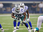 Dallas Cowboys offensive tackle Jermey Parnell (78) in action during the pre- season game between the Miami Dolphins and the Dallas Cowboys at the Cowboys Stadium in Arlington, Texas. Dallas defeats Miami 30 to 13...