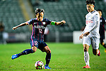 FC Kitchee Forward Kwan Yee Lo (l) in action during the AFC Champions League 2017 Preliminary Stage match between  Kitchee SC (HKG) vs Hanoi FC (VIE) at the Hong Kong Stadium on 25 January 2017 in Hong Kong, Hong Kong. Photo by Marcio Rodrigo Machado/Power Sport Images