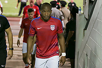 Couva, Trinidad & Tobago - Tuesday Oct. 10, 2017: Darlington Nagbe during a 2018 FIFA World Cup Qualifier between the men's national teams of the United States (USA) and Trinidad & Tobago (TRI) at Ato Boldon Stadium.