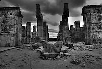 Chac-Mol or Thundering Paws Mayan Rain God C. 600-900 AD. Chichen Itza Mexico