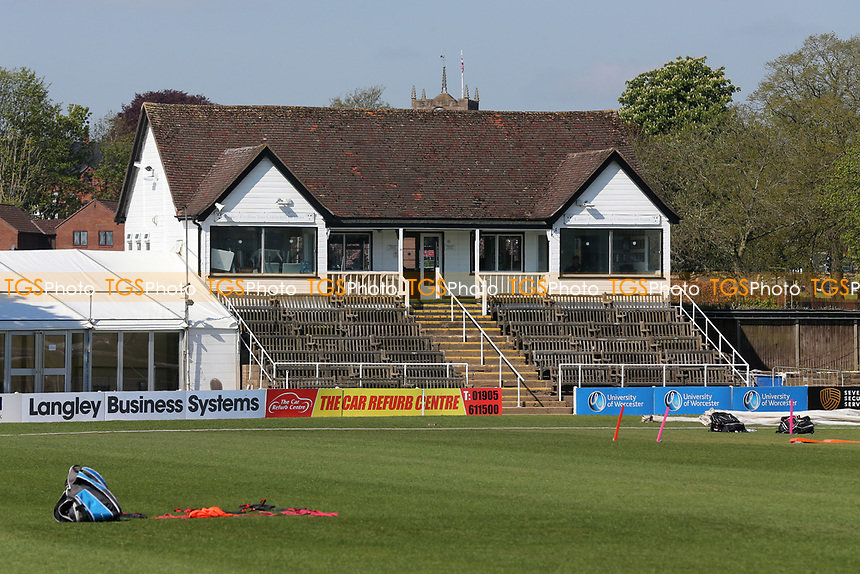 General view of the Ladies Pavilion ahead of Worcestershire CCC vs Essex CCC, LV Insurance County Championship Group 1 Cricket at New Road on 2nd May 2021