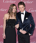 Hannah Bagshawe, Eddie Redmayne attends The The 26th Annual Palm Springs International Film Festival in Palm Springs, California on January 03,2015                                                                               © 2014 Hollywood Press Agency